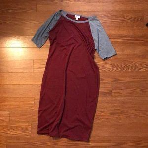 LuLaRoe Dresses - Worn once size medium LLR Julia